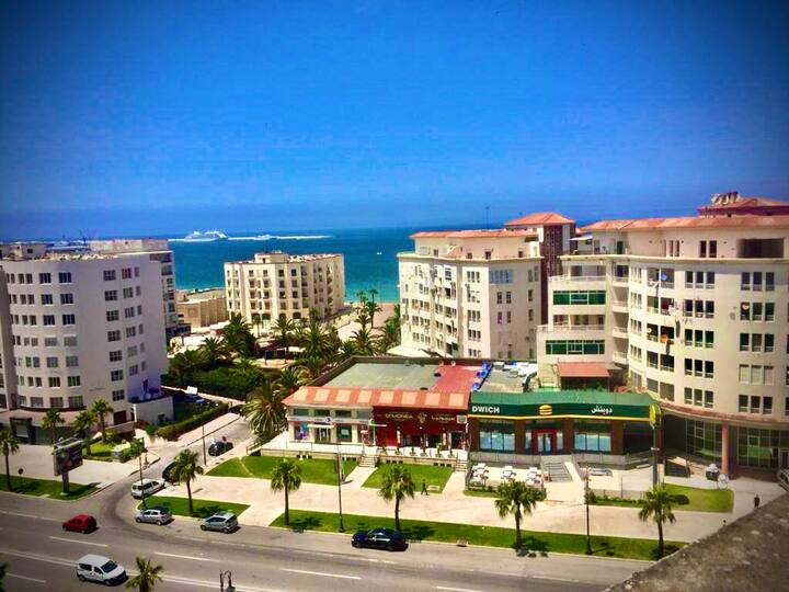 Tanger's Duplex apartment Sea View