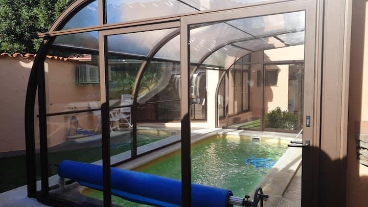Bellissima villa con piscina & Wifi