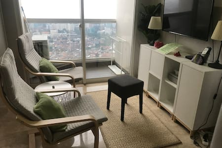 Cozy 2 Bed Rooms Apartment in The heart of Jakarta