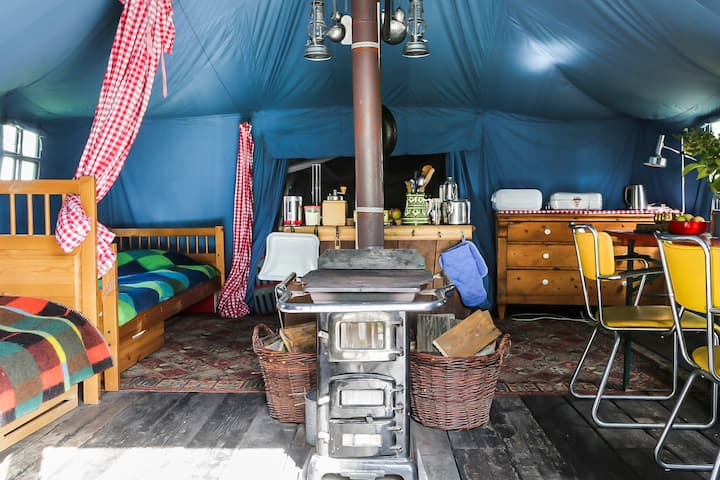 Warmgroen Camping