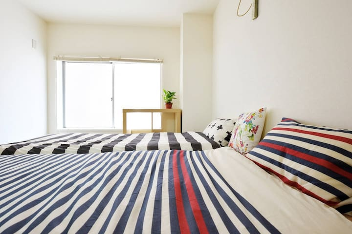Convenient place to stay in Kobe 30min to Osaka 4