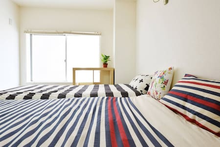 Convenient place to stay in Kobe 30min to Osaka - Kobe - Appartamento
