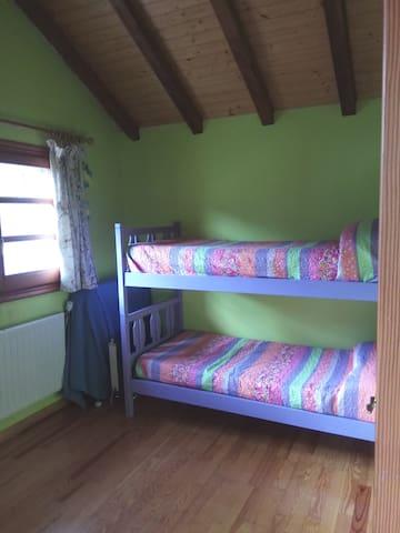 Dormitorio literas. Segunda planta