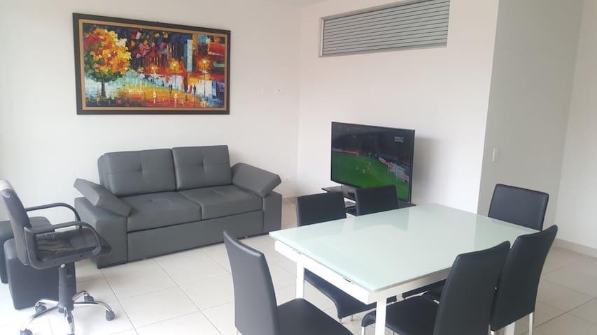 Cómodo & Moderno Apartamento - Villeta - 公寓