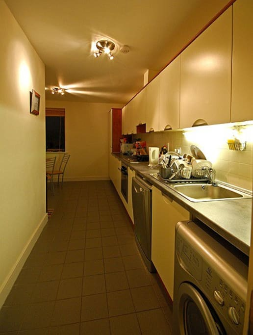 Spacious and comfortable Kitchen