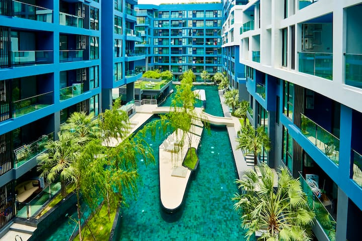 Acqua ,boutique condo,100mt from the beach!!! - Muang Pattaya - Appartamento