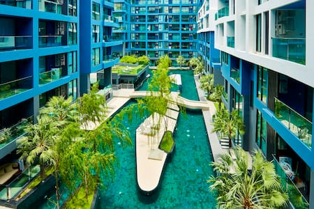 Acqua ,boutique condo,100mt from the beach!!! - Muang Pattaya - Leilighet