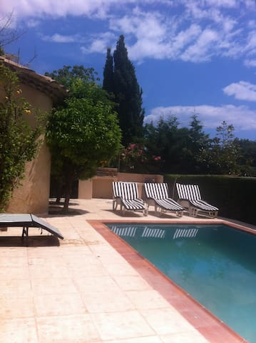 Mougins village house with pool and garden - Mougins - Haus