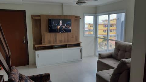 Apartamento duplex beira mar em Arroio do Sal