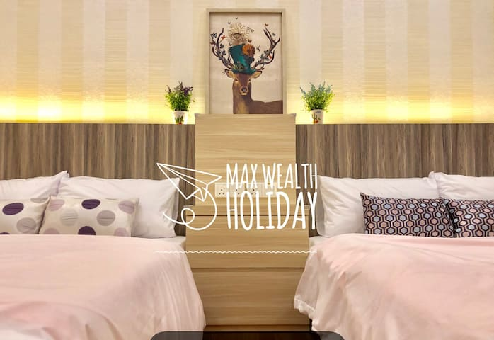 MWHoliday FamilySuites(4pax)with WIFI&TVBox 家庭舒适套房