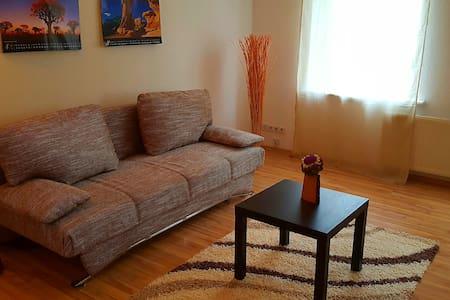 Gemütlich und zentral wohnen in BC - Apartamento