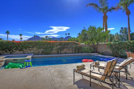 Indian Wells Pool/Spa home with view of mountains - Indian Wells