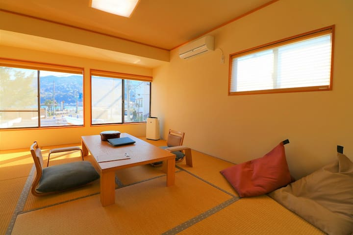 Oceanic Onsen B&B Hotel Room 203