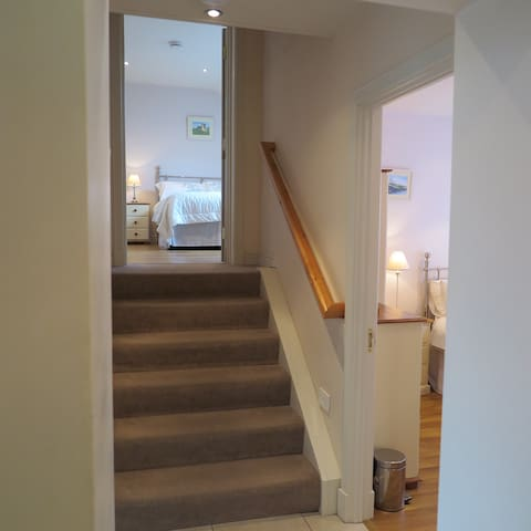 Stairs to Main Bedroom