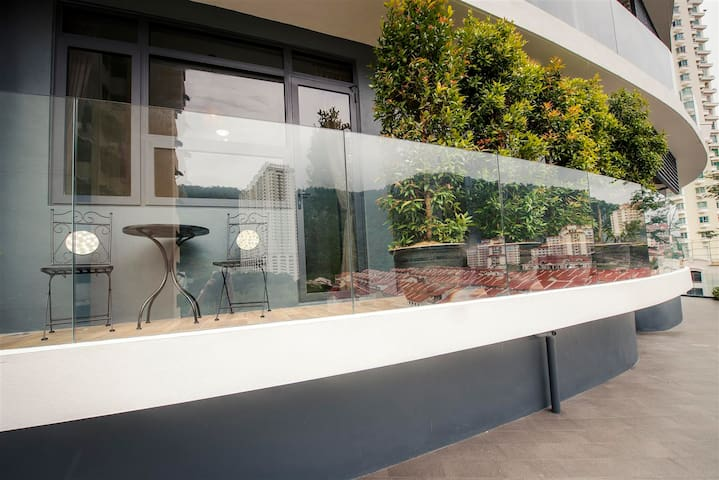 Arte S Garden House★Direct Access Pool★花园3房式度假公寓套房