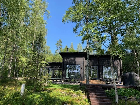 New villa by the lake