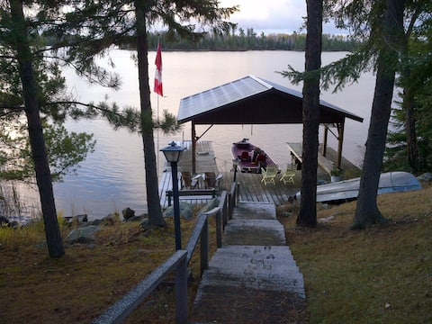 Family Home on Lake of the Woods