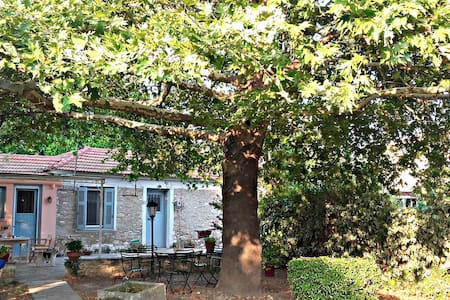 Detached house with a big garden near the sea - Kala Nera