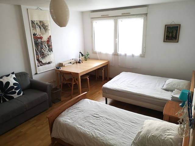 Private room of 20m ² near disneyland  and paris