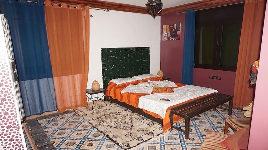Chambre Fès à La Perle d'Ifrane - Kasbah Ait Aammour ou Ali - Casa de hóspedes