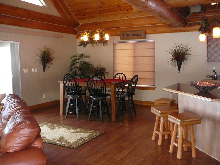 Spring Cabin dining room
