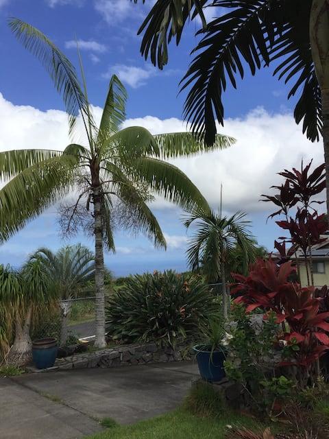 Бунгало в тропическом саду
