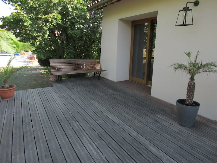 Appartement avec terrasse privative