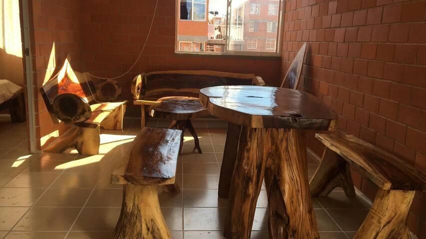 Departamento en renta amueblado en Huatulco