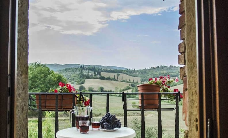 An apartment with view for your holiday, peaceful
