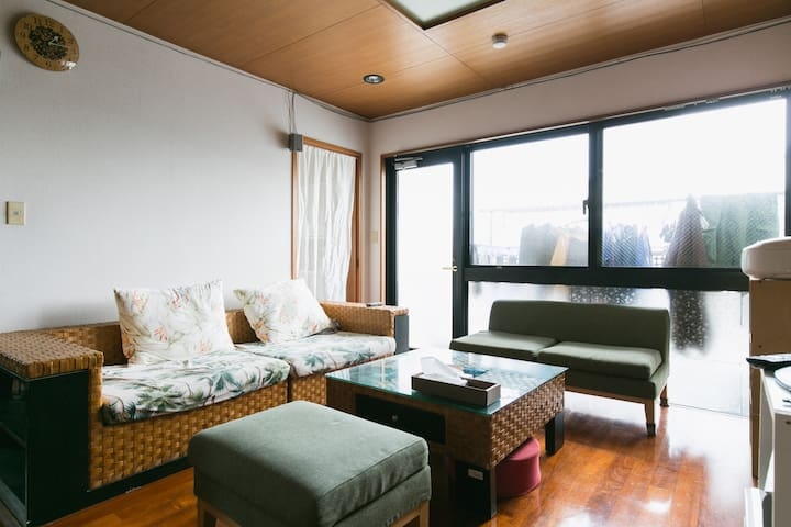Room @ Kume Naha - Naha-shi - Apartamento