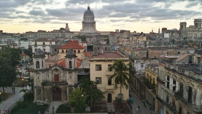 Apartamento con excelentes vistas La Habana Vieja - La Habana - Huoneisto