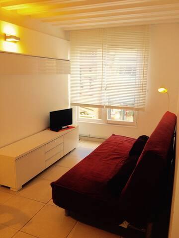 Cosy/sunny/practical apartment - Ottignies-Louvain-la-Neuve - Apartmen