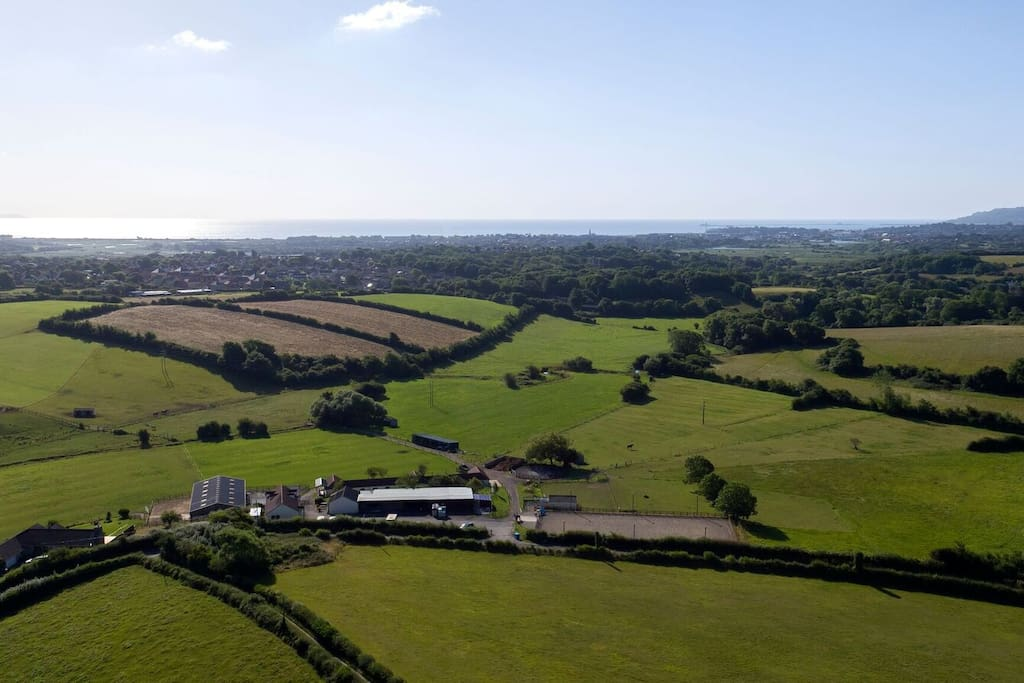 Kimberwick is set in 30 acres of Stunning Dorset Countryside
