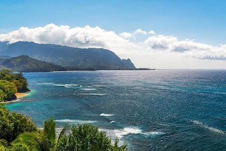 Jewel of the Pacific. Pali Ke Kua - Princeville