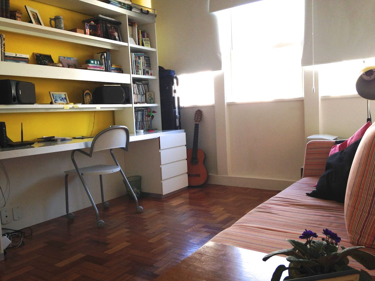 bright, aired and furnished bedroom!