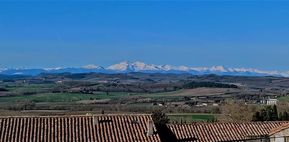Huis met uitzicht, Cailhau, Languedoc (Aude)