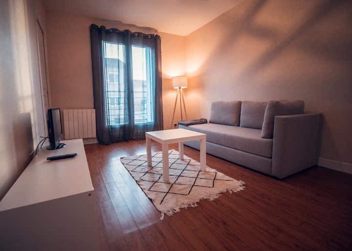 Bel appartement rénové à 2min centre d'Angoulême