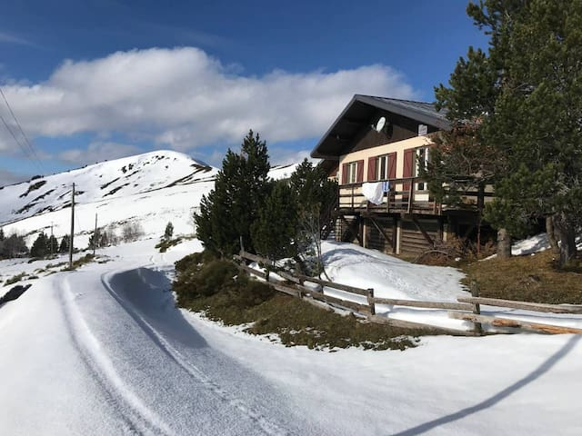 Nice chalet - 100 m from the slopes