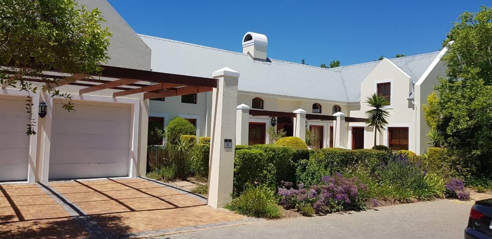 Stellenbosch home with a view