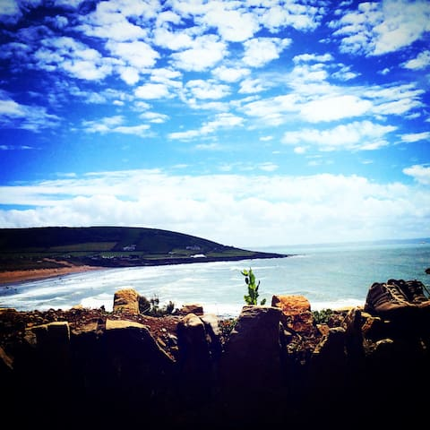 Over-looking Croyde Bay