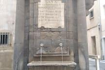 Fontaine du centre historique