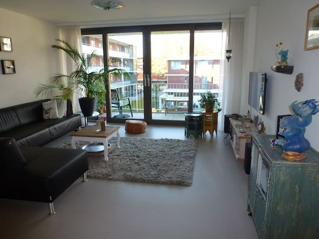 Modern apt, direct line to popular sights, cheap P - Amsterdam - House