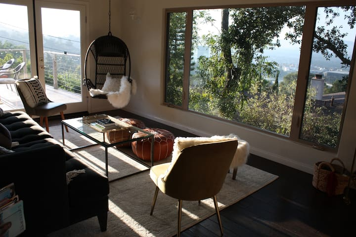 Upstairs Living Room, Off the Viewing Deck