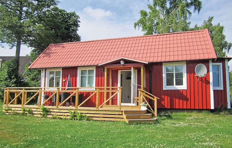 Holiday cottage with 1 bedroom on 55 m² in Lyckeby