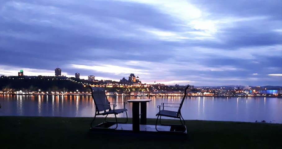 Splendeur de Québec à vos pieds :chambre4 de 4