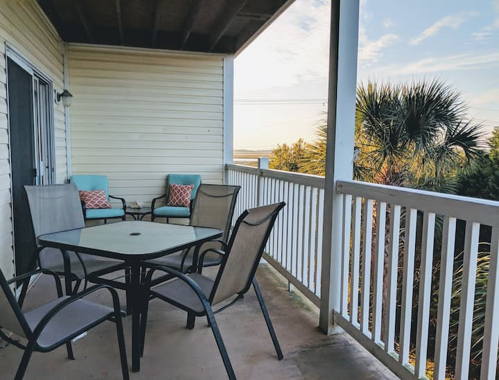 Friendly Folly Condo with Sunset Views