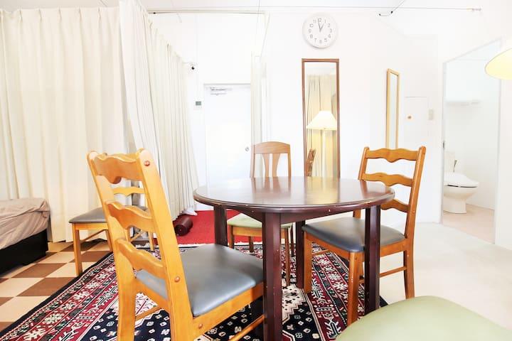 Room1★Free Parking◎WIFI★Luggage storage