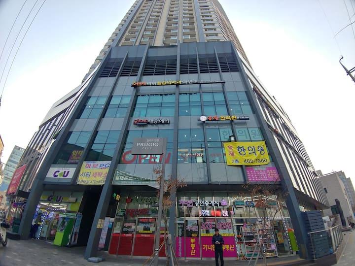 천호역 도보3분 한강푸르지오시티14층