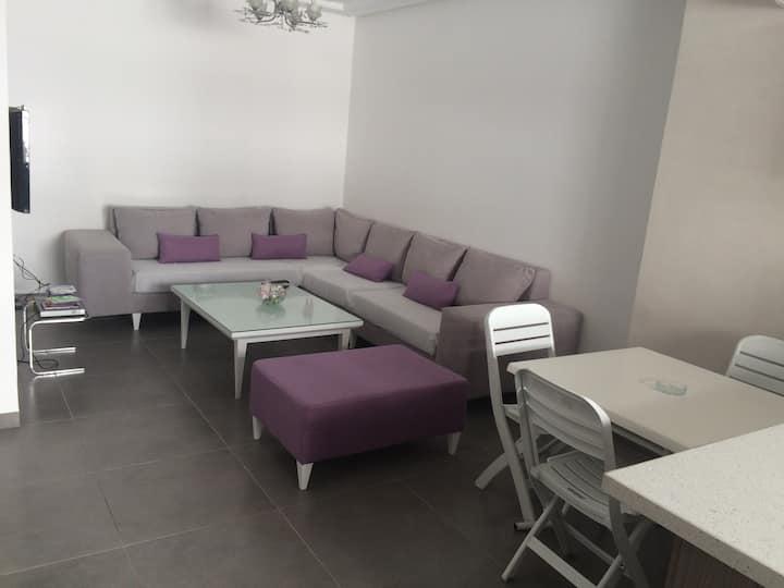 Cozy clean apartment in Hammamet Mrezga