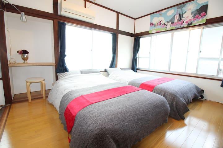 【NEW OPEN】4 min to Shinjuku Sta / 4 ppl / Wi-fi - Shibuya-ku - Appartement